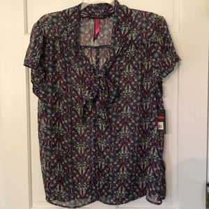 Pure Energy Tops - Target tie neck blouse 26/28
